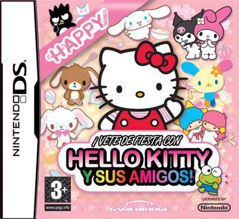 imagenes hello kitty y sus amigos 161 vete de fiesta con hello kitty y sus amigos para ds