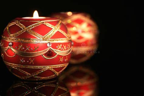 candele eleganti candele eleganti di natale fotografia stock immagine di