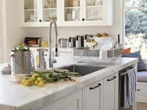 White Kitchen Countertops by Pics Photos White Marble Kitchen Countertop