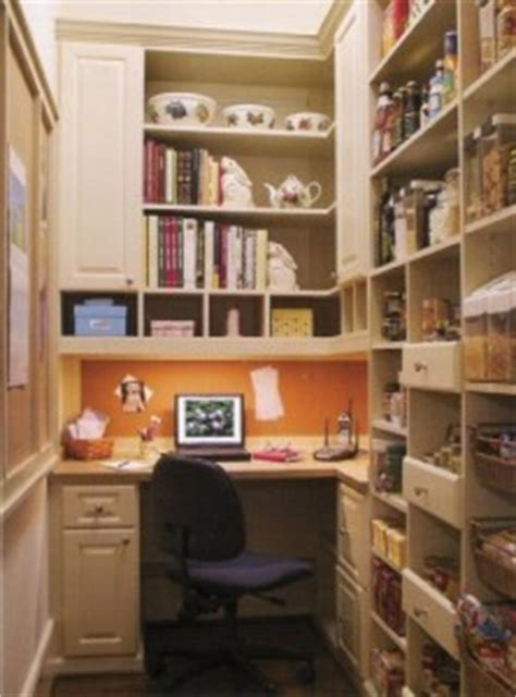A Working Pantry by Create A Closet Office Work Space Closet Storage Concepts