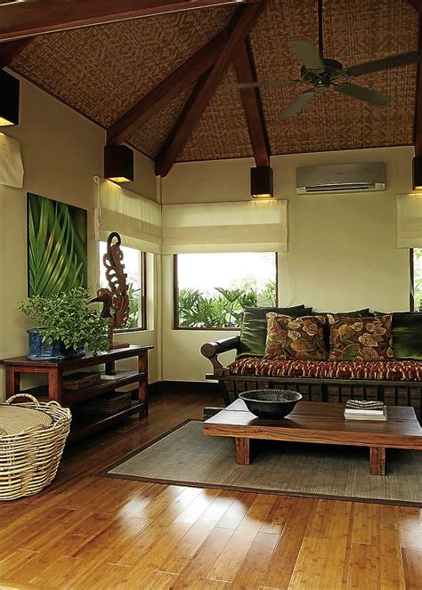 home design magazine philippines modern filipino nipa hut house interior ma 209 osa interiors