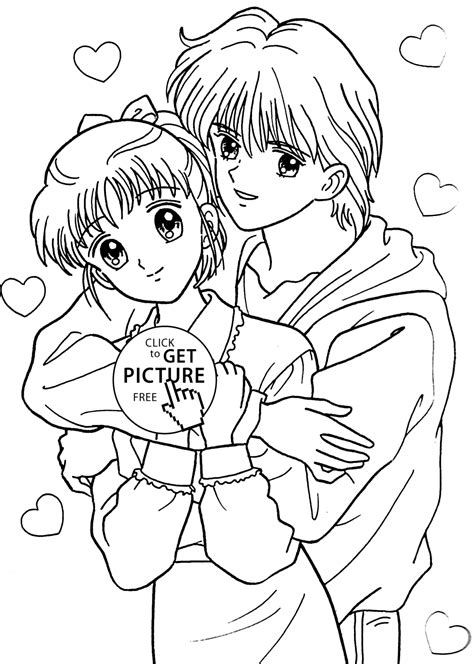 anime guy coloring pages vitlt com coloring anime guy coloring pages