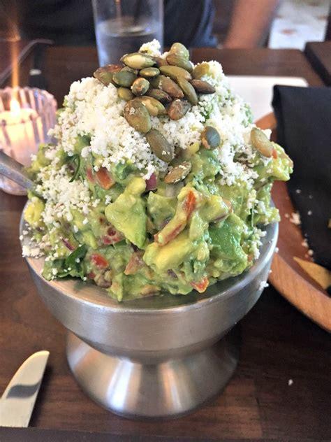 Table Side Guacamole by Paul Goldschmidt S Favorite Restaurant The Mission