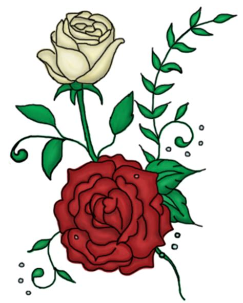 tattoo rose png twin roses tattoo design by a not e on deviantart