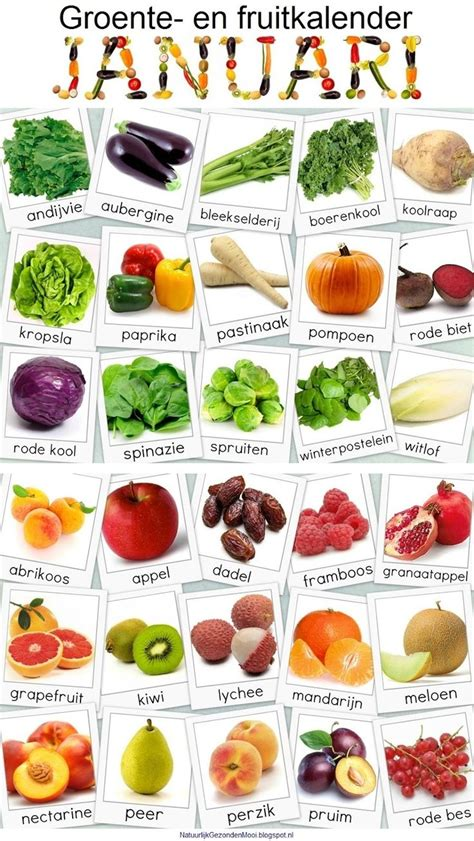 Vegetable Garden Menu 12 Best Groente En Fruitkalender Images On