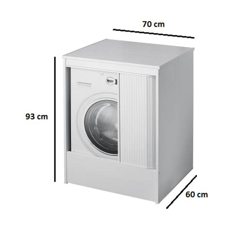 mobile porta lavatrice da esterno mobile coprilavatrice in pvc san marco