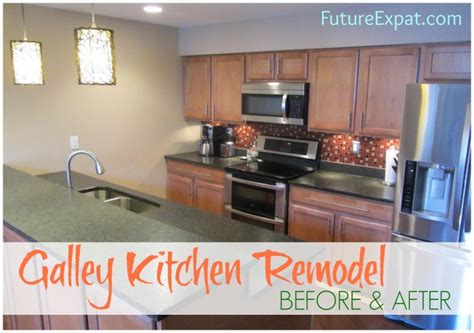 Replace A Kitchen Faucet galley kitchen remodel before amp after pictures future