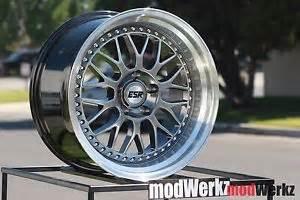 17x8 5 25 17 quot inch esr sr01 sr1 5x120 black wheels rims