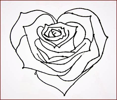 imagenes de rosas y corazones para dibujar a lapiz imagenes de corazon para colorear archivos fotos de