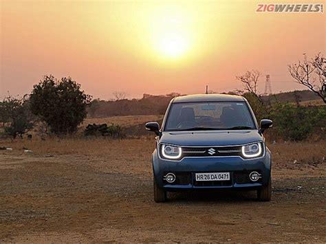 Suzuki Diesel Review Maruti Suzuki Ignis Diesel Road Test Review Zigwheels