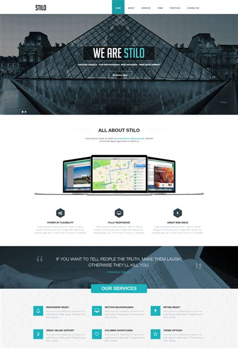 drupal themes one pager 15 versatile one page drupal themes