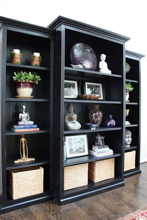 inexpensive bookcase ideas best 25 black bookcase ideas on bookcases