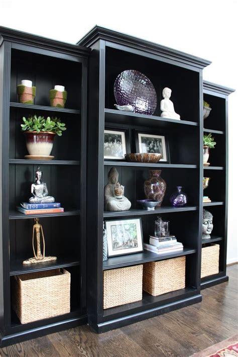 Bedroom Shelves Black Best 25 Black Bookcase Ideas On Tea And Books