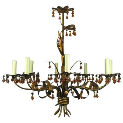 Murano Chandeliers Sale On Sale Murano Chandelier With Glass Bells For Sale At 1stdibs