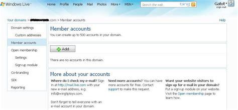 membuat email dengan domain sendiri di live com membuat email domain sendiri dengan layanan quot windows live