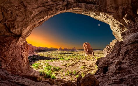 rock wallpapers wallpaper cave wallpaper arches national park utah usa moon rock