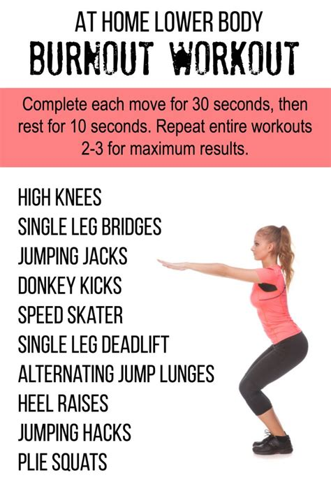workout burnout beginner s workout