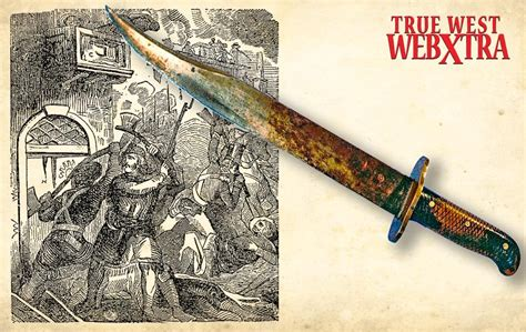 american bowie knife fighting blades of the frontier true west magazine