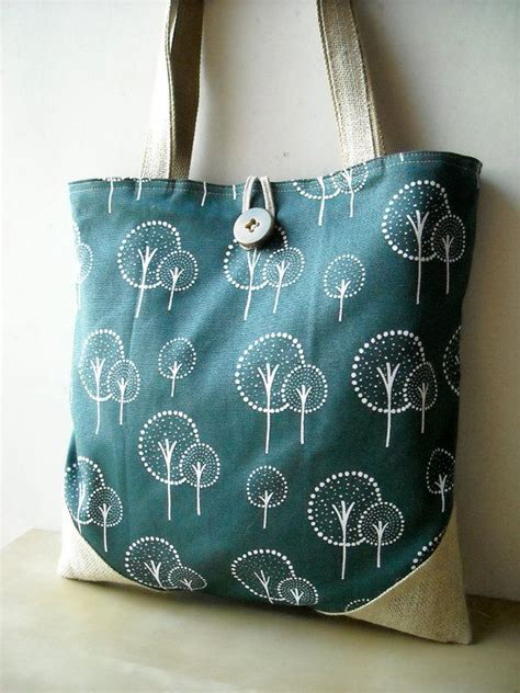 How To Make Handmade Tote Bags - 1000 ideas about tote bags handmade on cotton