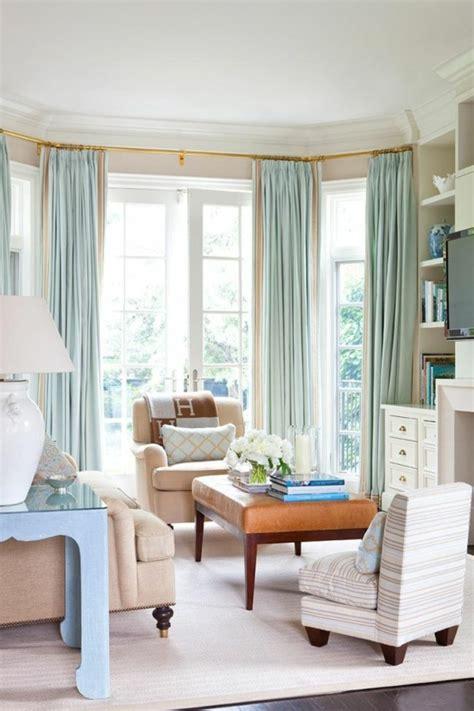 Vorhänge Eckfenster by 1001 Moderne Gardinenideen Praktische Fenstergestaltung