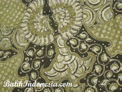 Kain Batik Manuk Kembar motif batik tulis manuk kembar kembang telo batik