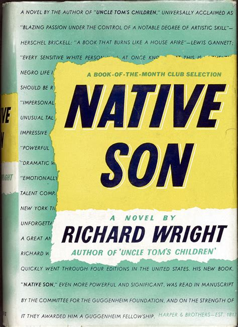 themes in the book native son 1900 to 1950 books that shaped america exhibitions