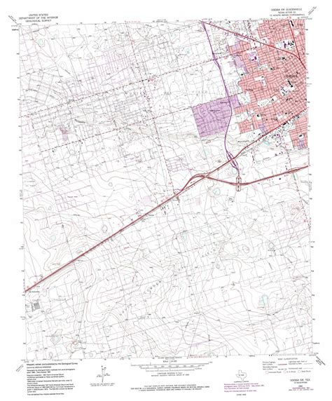 map odessa texas odessa sw topographic map tx usgs topo 31102g4