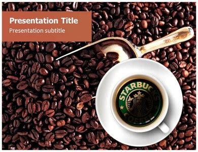 Ppt Layout On Starbucks Coffee Templateforpowerpoint Starbucks Powerpoint Template