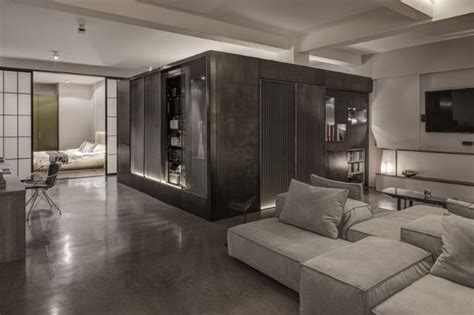 warehouse conversion layout theatrical apartment industrial london warehouse conversion