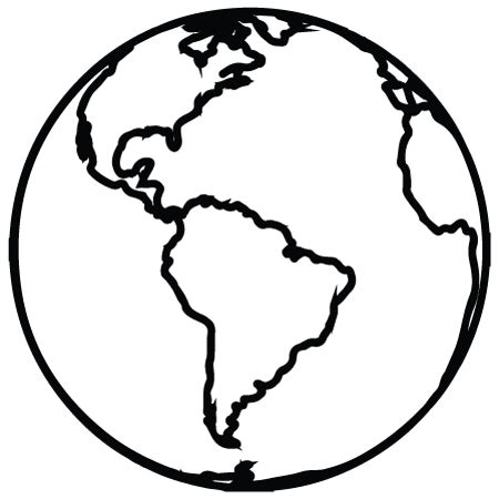 The Globe Outline by We Seek Your Creative Contributions Nourishing Our Children