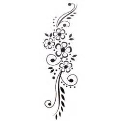 black flower tattoo designs for hand tattoos