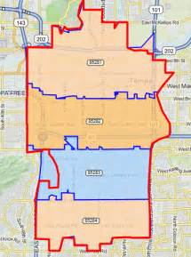 tempe arizona zip code map tempe for commercial residential and hoa