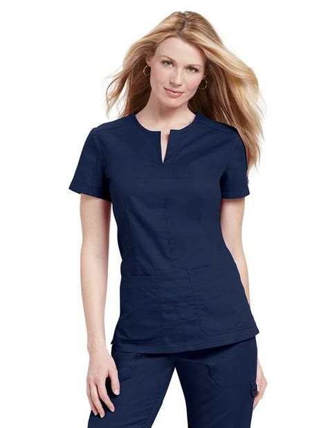 Scrub The Shop koi scrub top in navy from the istudentnurse shop