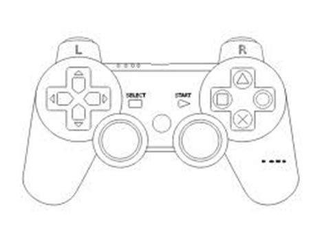 controller card template playstation controller silhouette tons of cards