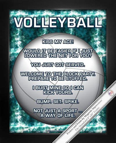 printable volleyball quotes best 25 volleyball posters ideas on pinterest