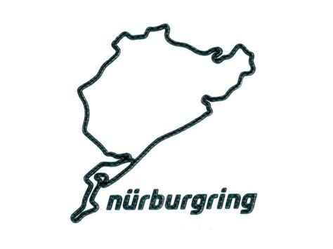 Aufkleber Nürburgring by N 252 Rburgring 3d Aufkleber Nordschleife 12cm Fanartikel