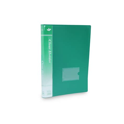 Harga Clear Holder Isi 60 felix clear holder folio isi 60 lembar elevenia