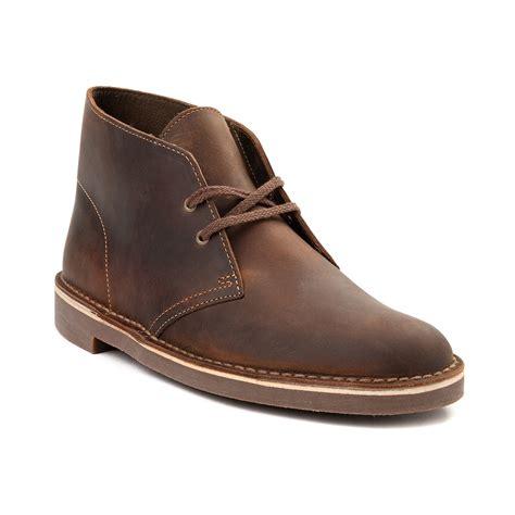 best clarks shoes mens clarks bushacre casual shoe brown 296600