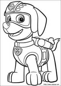 dibujos colorear la patrulla canina