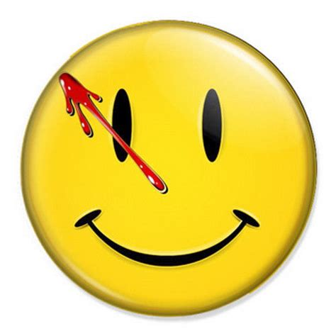 watchmen smiley face 25mm 1 quot pin badge button dc comics ebay
