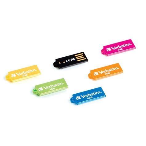 Colorful Usb Flash Drives by Colorful Line Of Micro Usb Flash Drives From Verbatim Debuts