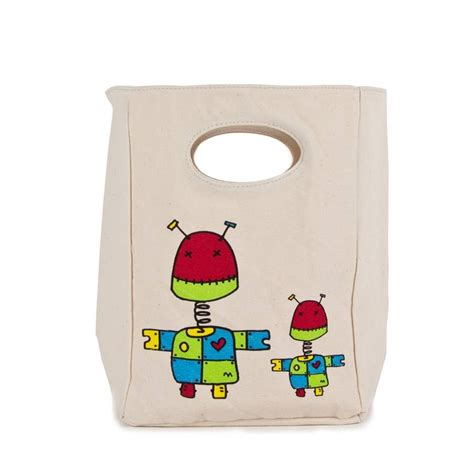 Cotton Lunch Bag organic cotton lunch bags by green tulip ethical living