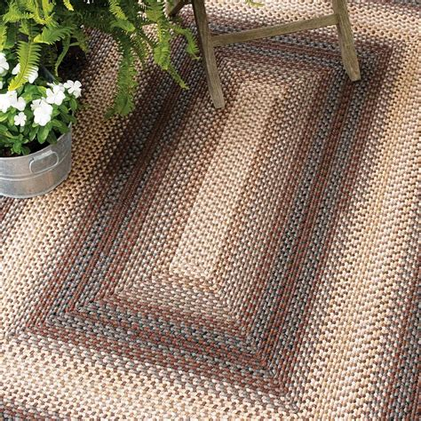 Outdoor Braided Rugs Driftwood Outdoor Braided Rugs
