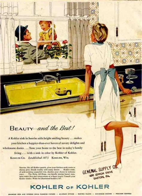 kitchen ads 16 vintage kohler kitchens and an important kitchen