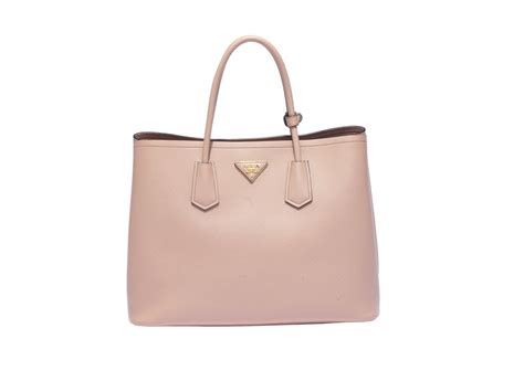 prada double bag in cammeo we are doubling down on the