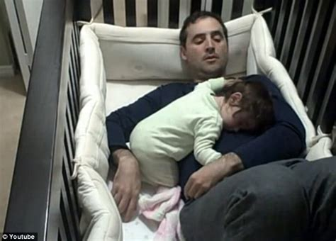 getting baby to sleep in crib after co sleeping shows climbs into baby s cot to stop from