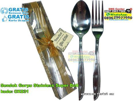 Sendok Set Keramik Karakter set sendok garpu sumpit kantong eksklusif souvenir