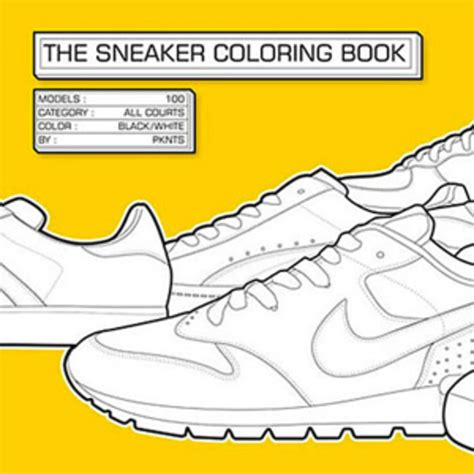 the sneaker coloring book sneaker free coloring pages