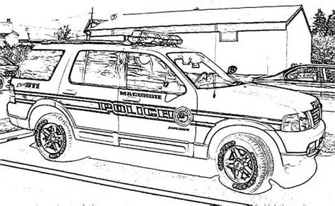 coloring pages police truck police car coloring pages police car coloring pages free