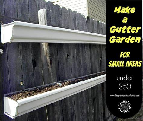 build  gutter garden preparednessmama